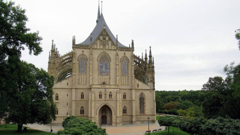 st barbaras cathedral - kutna-hora