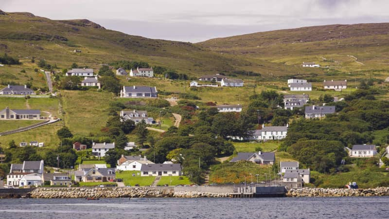 The island recently received high-speed internet, and hopes to attract remote workers.