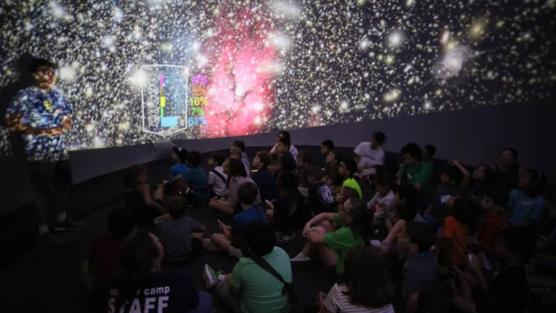 The Houston Museum of Natural Science will feature a special family-friendly inflatable planeterium.