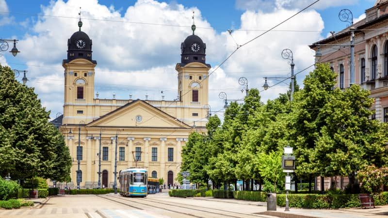 Debrecen, Hungary is the country's second-largest city and a lovely place for a getaway.