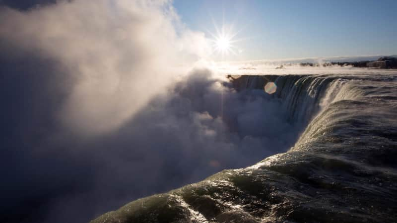 As long as the US-Canada border remains closed, visiting Niagara Falls in Ontario won't be possible for US citizens.