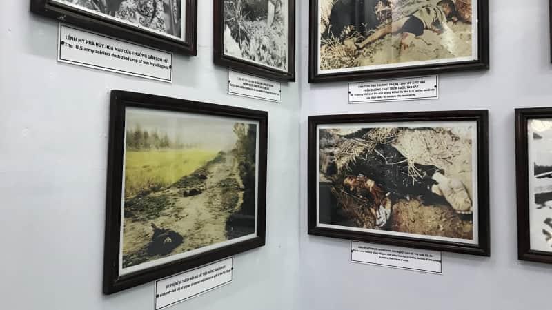 Photos inside the Son My Museum show 1968's My Lai massacre
