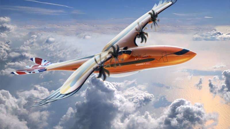 Airbus unveiled this bird-like conceptual airliner design with the goal of motivating the next generation of aeronautical engineers.