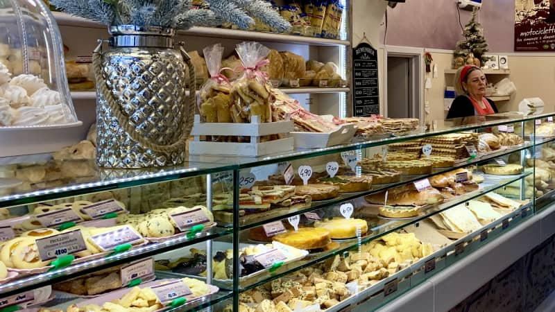 A stop in one of Lucca's bakeries is a must for travelers with a sweet tooth.