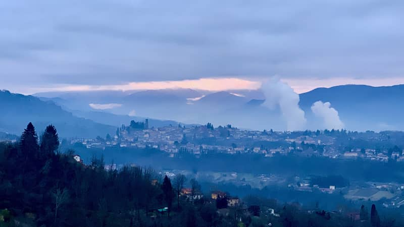 Barga's early morning light is worth waking up for.