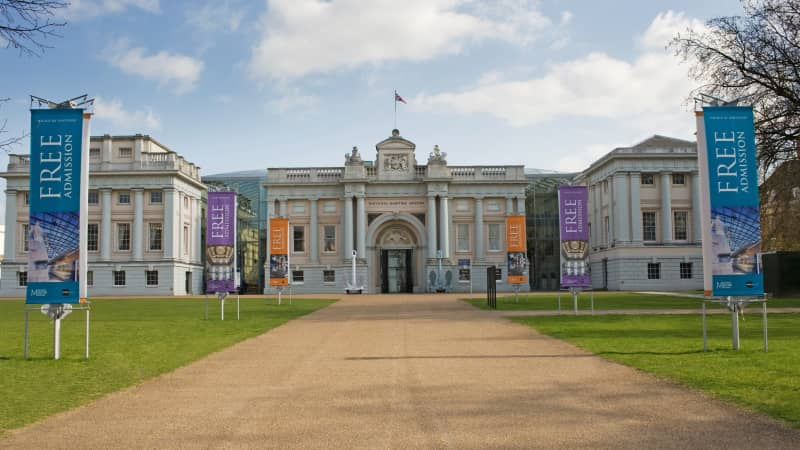 Situated in the South London borough of Greenwich, along the River Thames, the Maritime is home to an excellent all-things-sea-related collection.