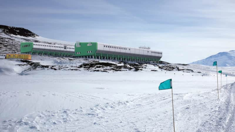 Contractors will visit the Scott Base site to measure conditions.