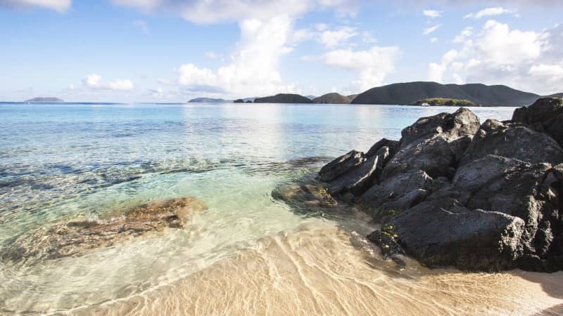 Little Cinnamon Beach in St. John, US Virgin Islands