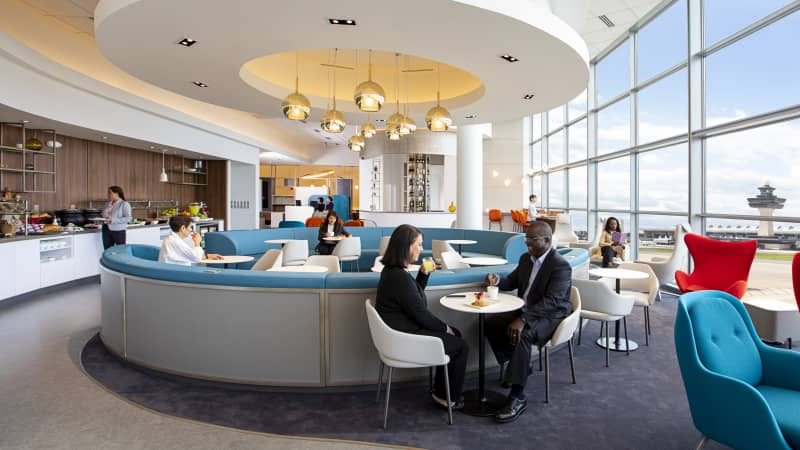 "Air France has been ""investing heavily in lounges,"" including a renovation at Washington Dulles."