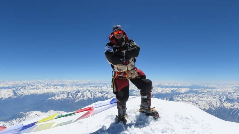 Nirmal Purja's seventh summit was Nanga Parbat 2 in Pakistan