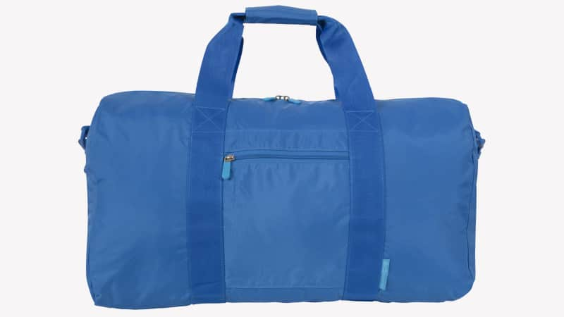 Great for travelers -- the exapandable duffel.
