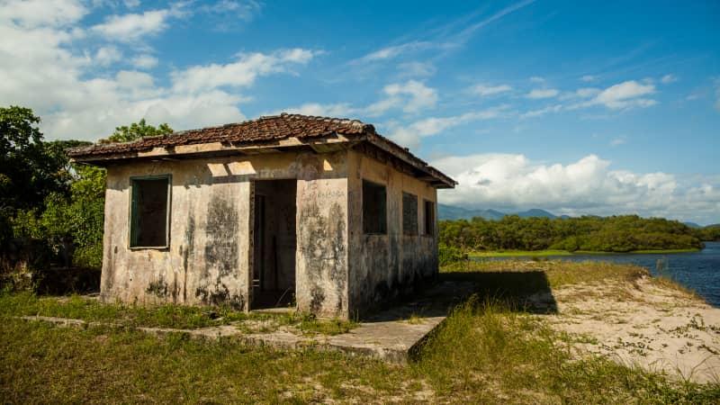 Fewer than 500 people call the island home.