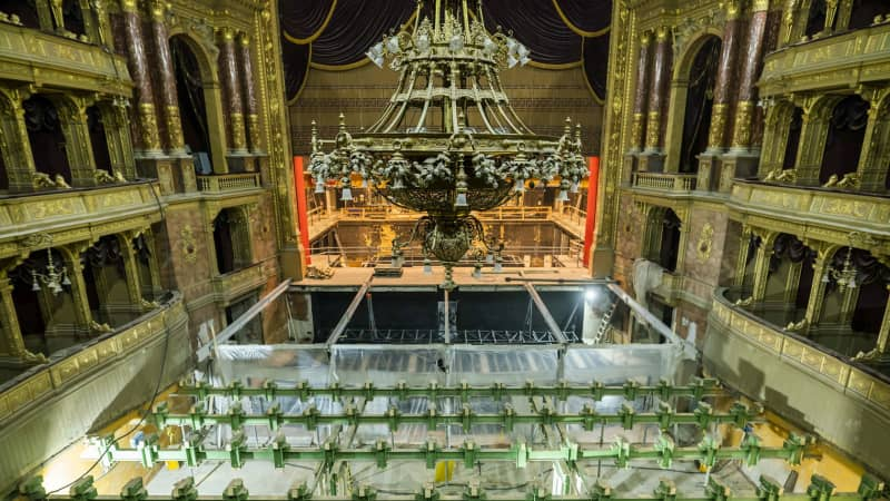 Hungarian State Opera House renovations images