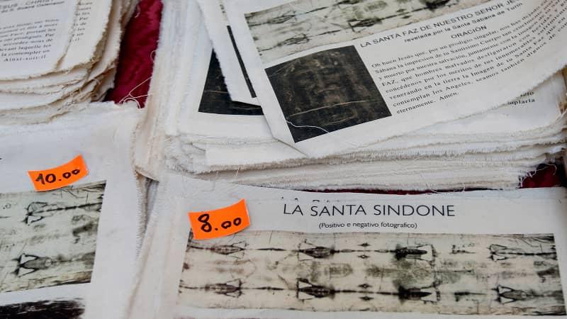 turin shroud souvenir images