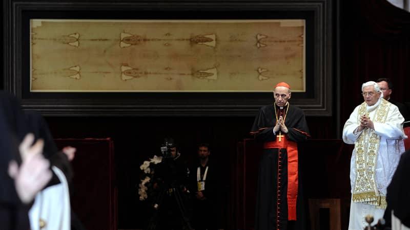 shroud turin pope benedict