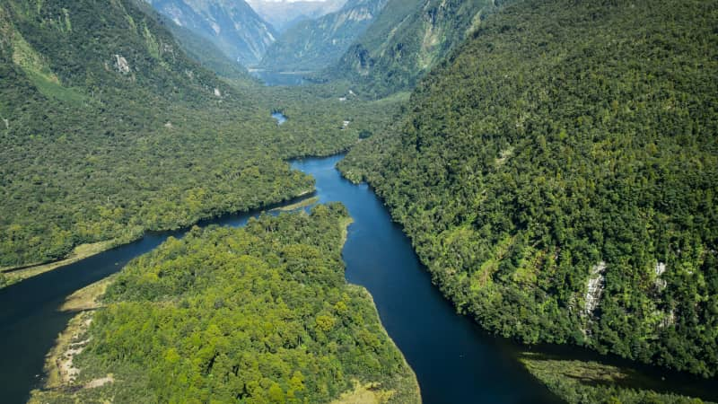 Fiordland National Park has super-sized scenery.