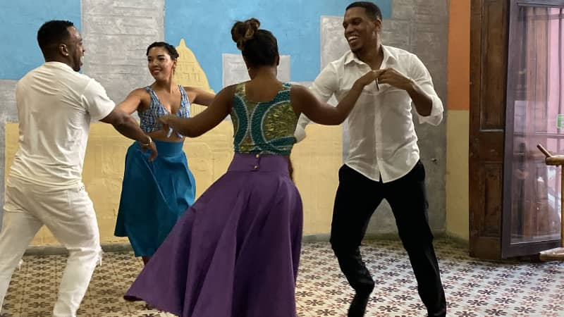 Dance instructors at La Casa Del Son make their salsa, cha-cha and mambo moves look easy.