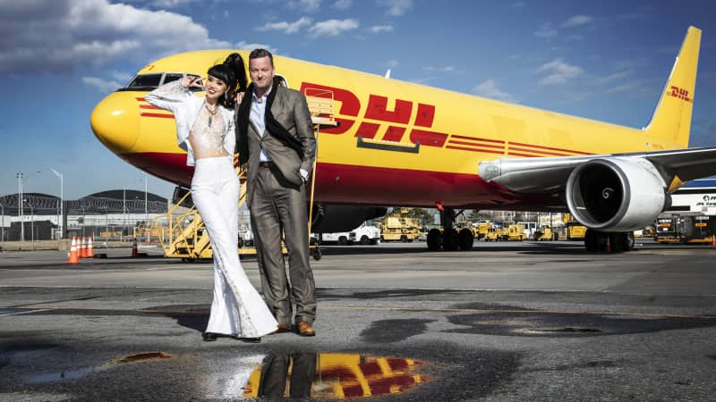 Fashion producer Minh Anh says she's impressed with DHL's energy-efficient facility at JFK.