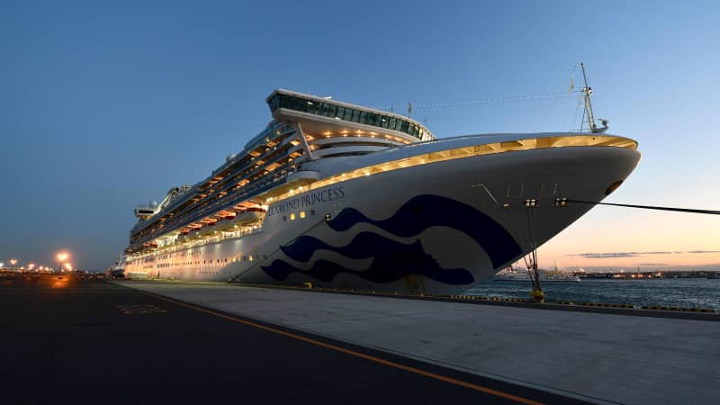 It's hoped the Diamond Princess will return to service soon.