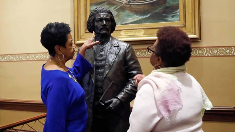 Statue of Frederick Douglass