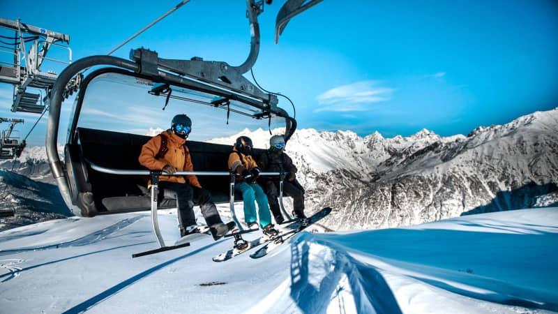 Georgia skiing, Mestia, Hastvali cable car