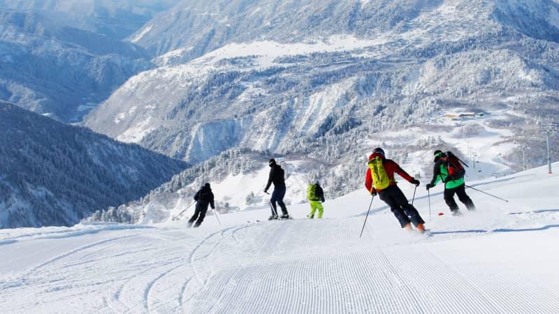 Georgia skiing, Mestia