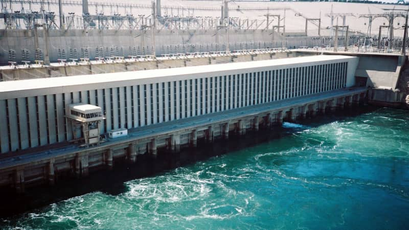The construction of the Aswan High Dam, completed in 1970, has generated hydro-electricity for Egypt and increased arable land in Egypt.