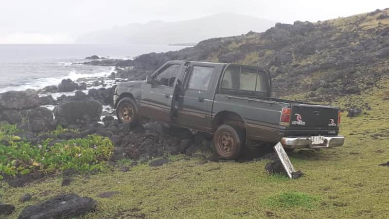 easter island truck accident