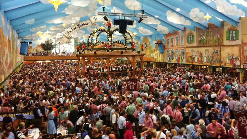 Munich's Oktoberfest isn't a natural fit for social distancing, so sadly it's been canceled again this year.
