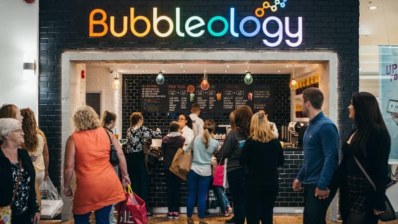 new types of Bubble tea UK Bubbleology