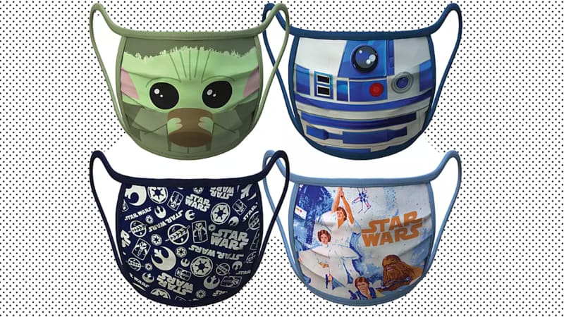Disney's new line of cloth masks