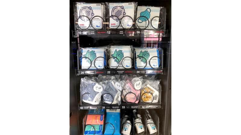 PPE anyone? It's just a vending machine away in McCarran International Airport in Las Vegas.