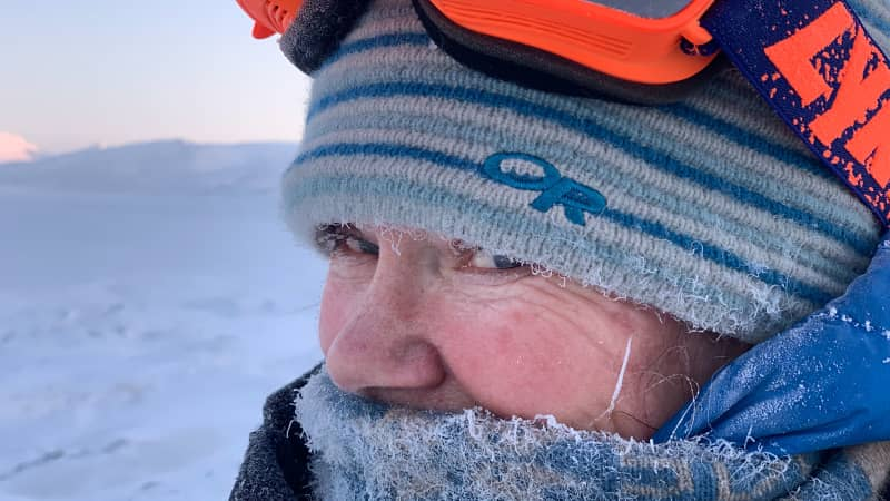 Images from 'Hearts in the Ice,' ilde Falun Strom and Sunniva Sorby's expedition in remote Basembu  in researchers in Svalbard, Norway