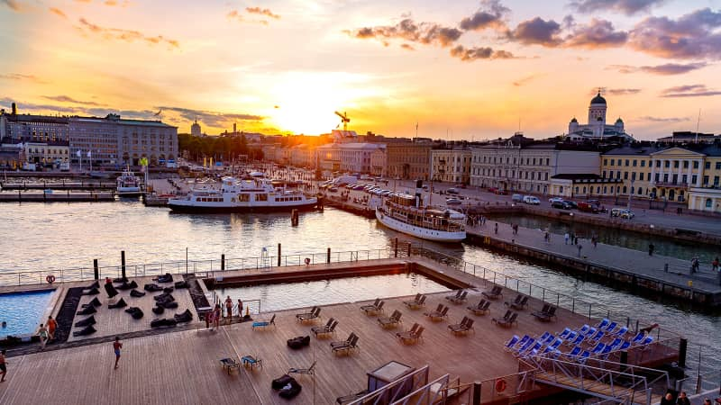 Even relatively smaller cities like Helsinki have seen a decrease in visitors, many of whom are opting to spend time in more remote parts of the country.