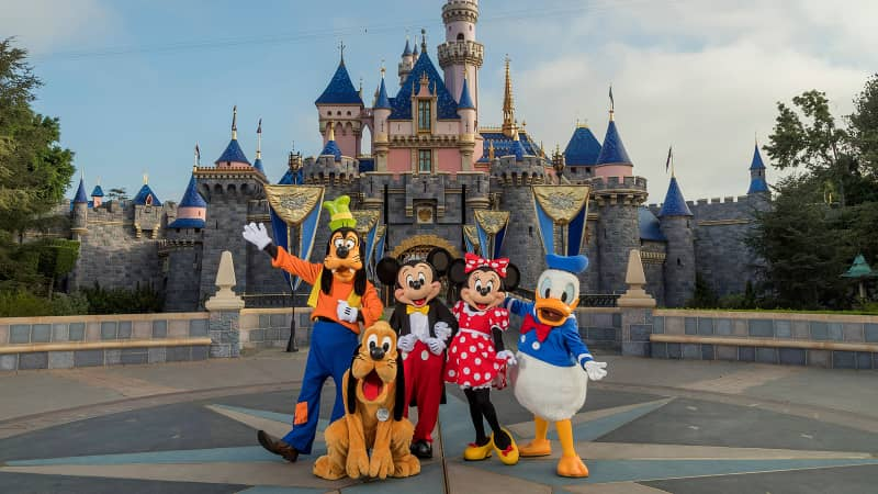Your rendevous with Mickey Mouse and the gang at Disneyland is postponed.