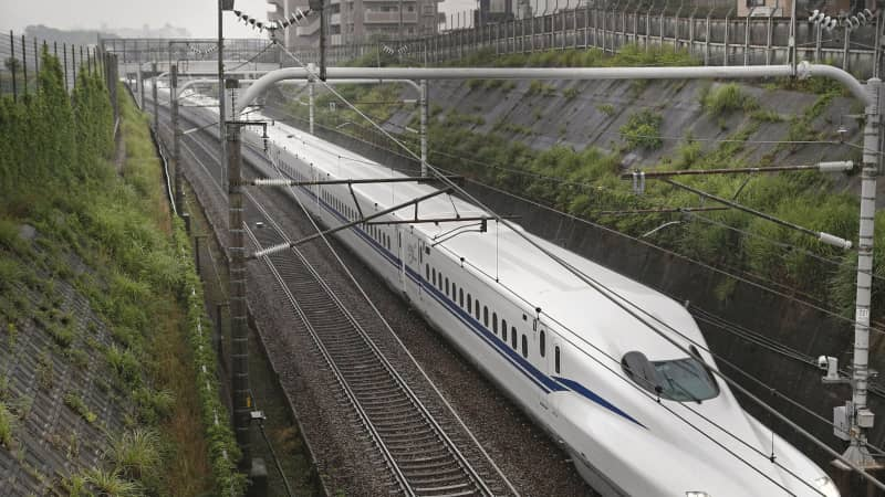 The new N700S Shinkansen bullet train commenced commercial service on July 1, linking Tokyo with Osaka.
