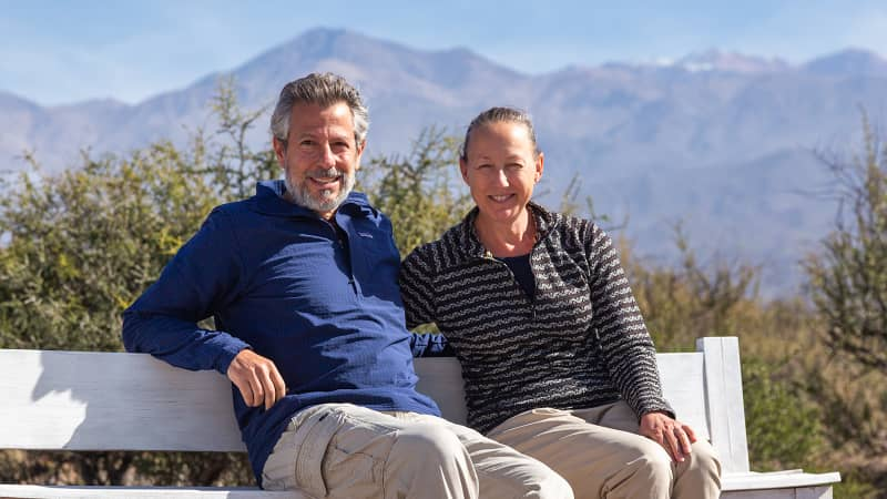 Eric Mohl and Karen Catchpole have paused their 14-year, trans-Americas road trip.