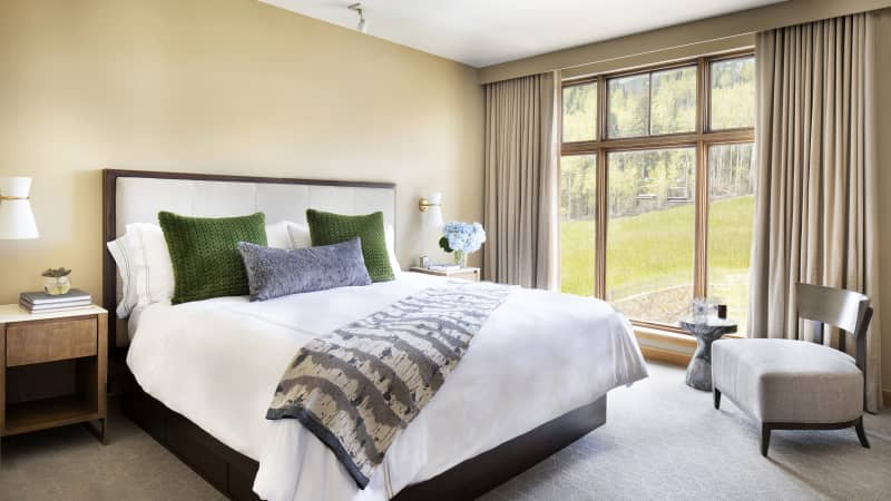 Tuck in and stay awhile at Viceroy Snowmass -- long-term guests get discounts.