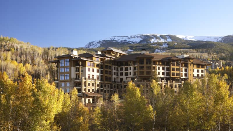 Scott Lippman's family left Santa Fe for a seven-week stay at the Viceroy Snowmass in Colorado.