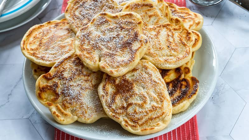 Racuchy -- Polish sweet treats that look just like pancakes.