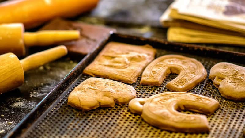 Freshly baked gingerbread from the Old Town of Torun.