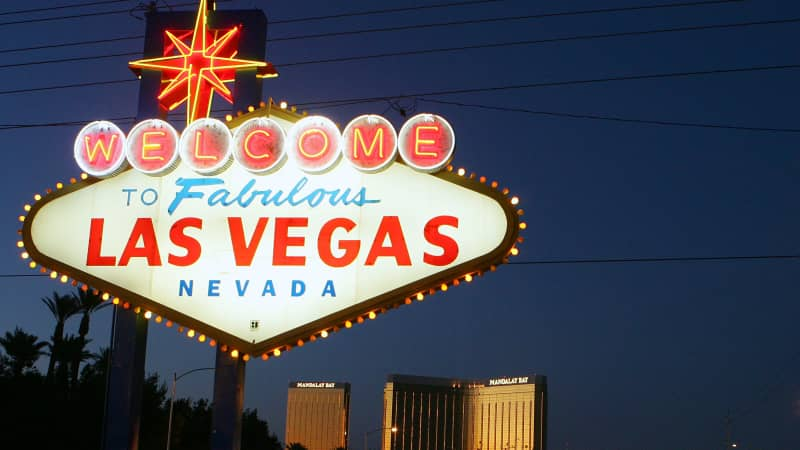 Nevada doesn't have travel restrictions -- so that means Vegas fans can visit.