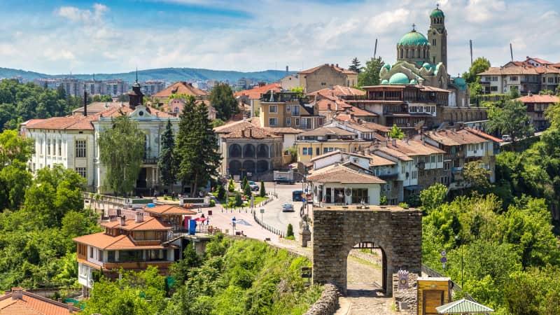 The fairytale town of Veliko Tarnovo.
