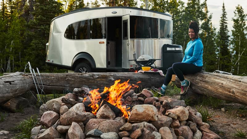Staying in a big-city hotel is out; RV travel is in.