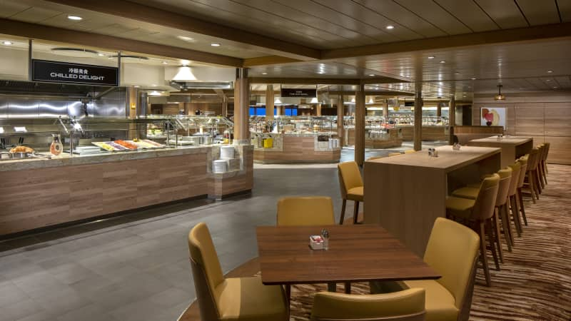Royal Caribbean is expected to modify its buffet offering aboard cruise ships.