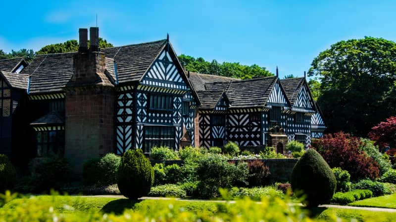 Speke Hall, near Liverpool, was owned by a slave trader.