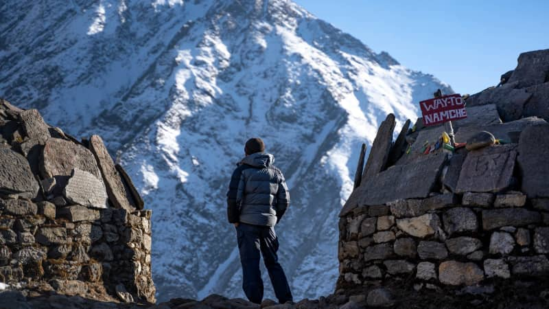 """Menninger's experiences on Everest are documented in the film """"The Porter."""""""