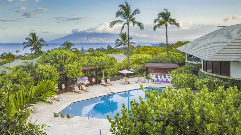 Hotel Wailea's owner Jonathan McManus says they are ready to welcome back visitors and cites their open-air dining and connection to nature as part of the property's safety plans.