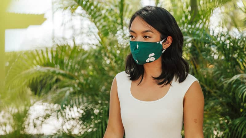 In Hawaii, a mask or facial covering is required in public.