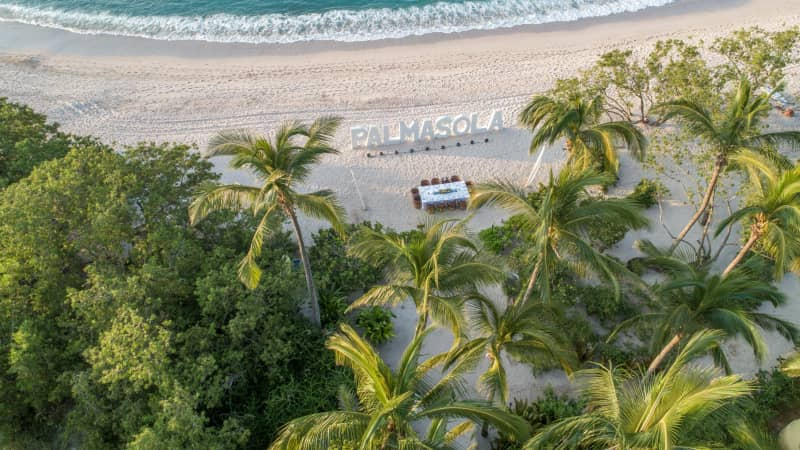 Palmasola, a nine-bedroom beachfront estate in Punta Mita, Mexico, has been booked by groups of friends and family, reuniting after months apart.